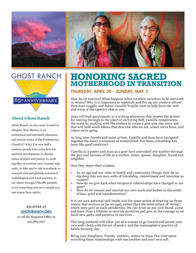 2020 Honoring Sacred Motherhood Flyer